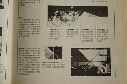 黑白相紙試條曝光板