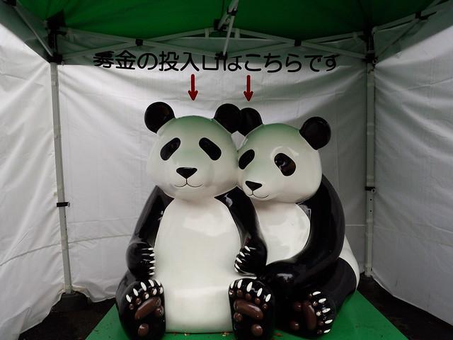 パンダの貯金箱