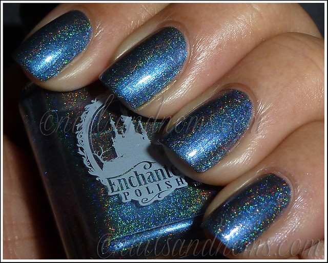 Enchanted Polish Ho Ho Holoday - Bruised Nutcracker Flash 2