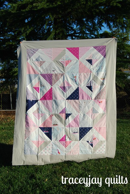 Treasure Boxes Quilt top