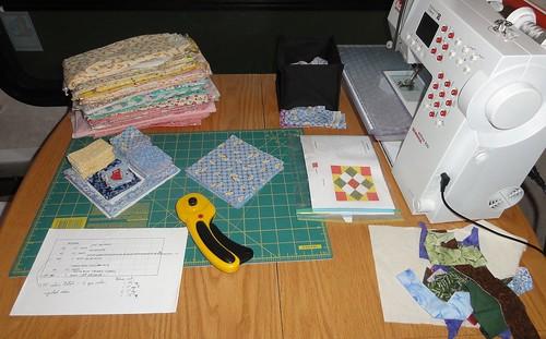 Cutting 30's prints