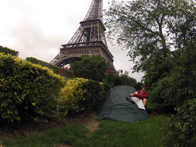 Sleeping Next to the Eiffel Tower