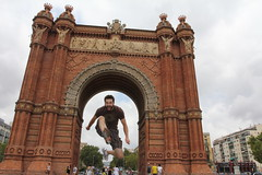 Arc de Triomph Jump