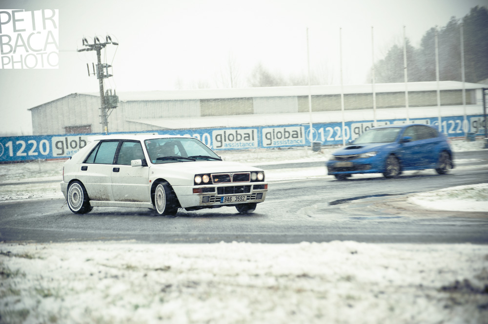 Lancia Delta HF Integrale, Sosnová, Amater Rally