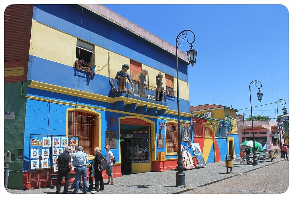 la boca blue house