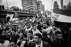 Marching on the presidential palace مسيرة العباسية في طريقها إلى الإتحادية
