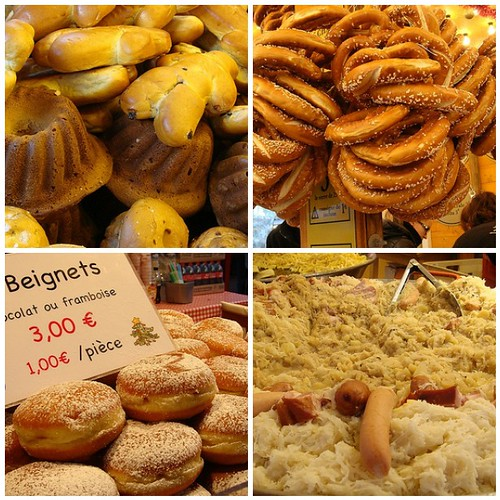 Christmas market foods