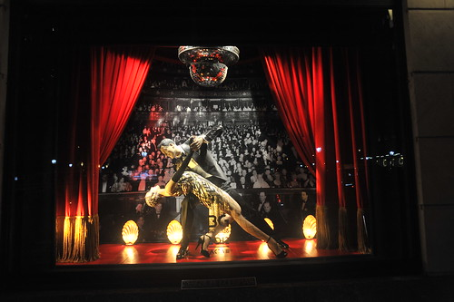BERGDORF GOODMAN'S  CREATIVE HOLIDAY WINDOW DISPLAYS  2012    -     Bergdorf Goodman,  Fifth Avenue  NYC   -       12/03/12