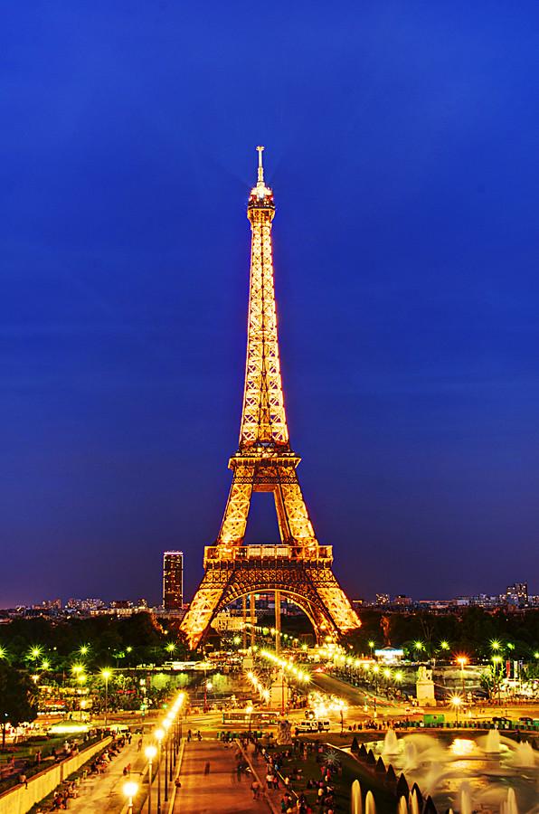 片刻的法國記憶(HDR照片)