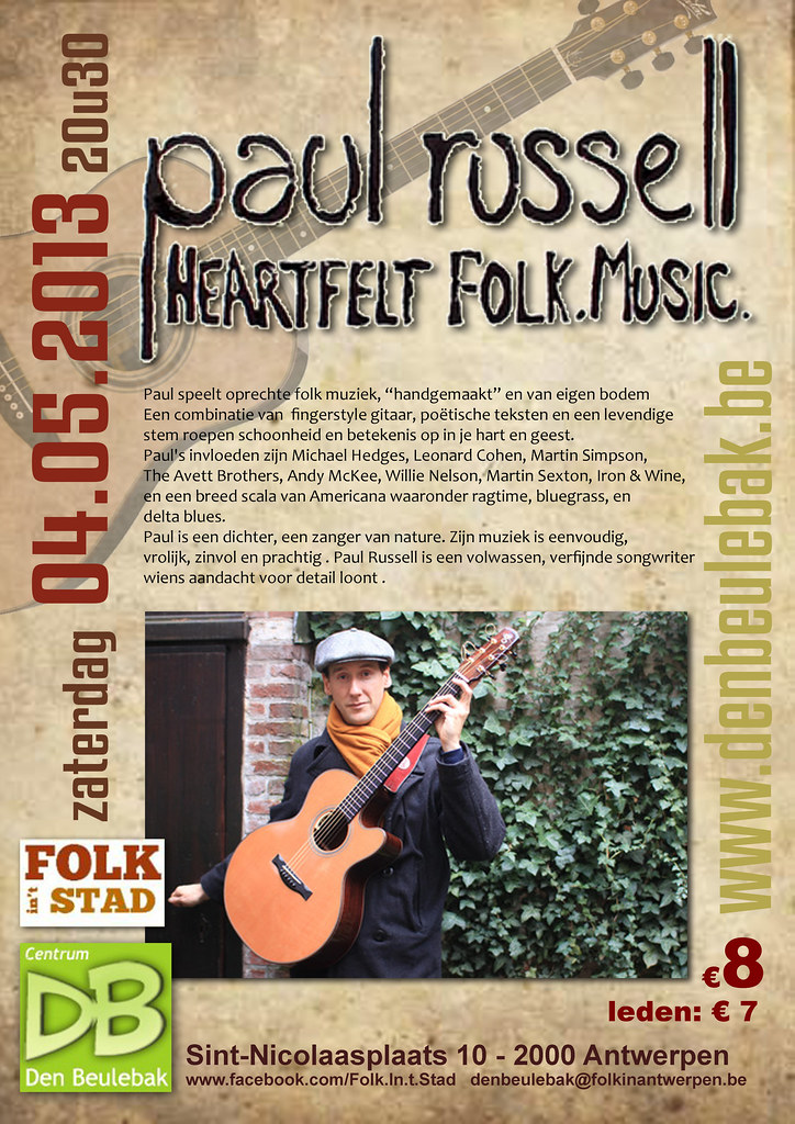 Folk in't Stad Paul Russell