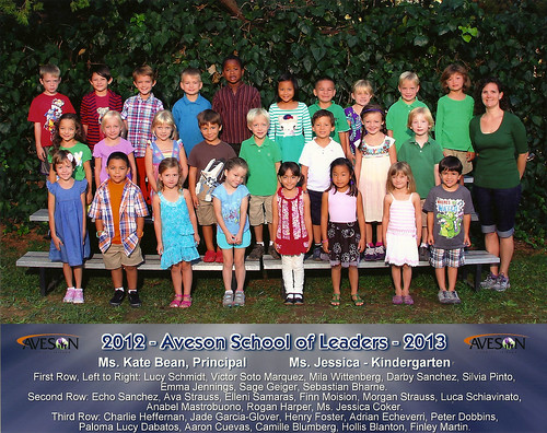 Finn's Kindergarten Class