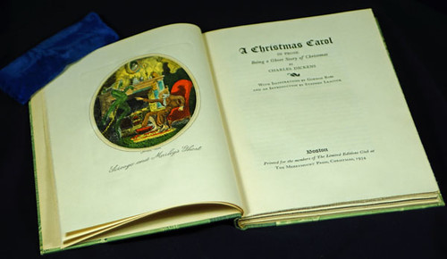 American Edition of Dickens' A Christmas Carol