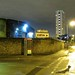 The Pepys Estate at night