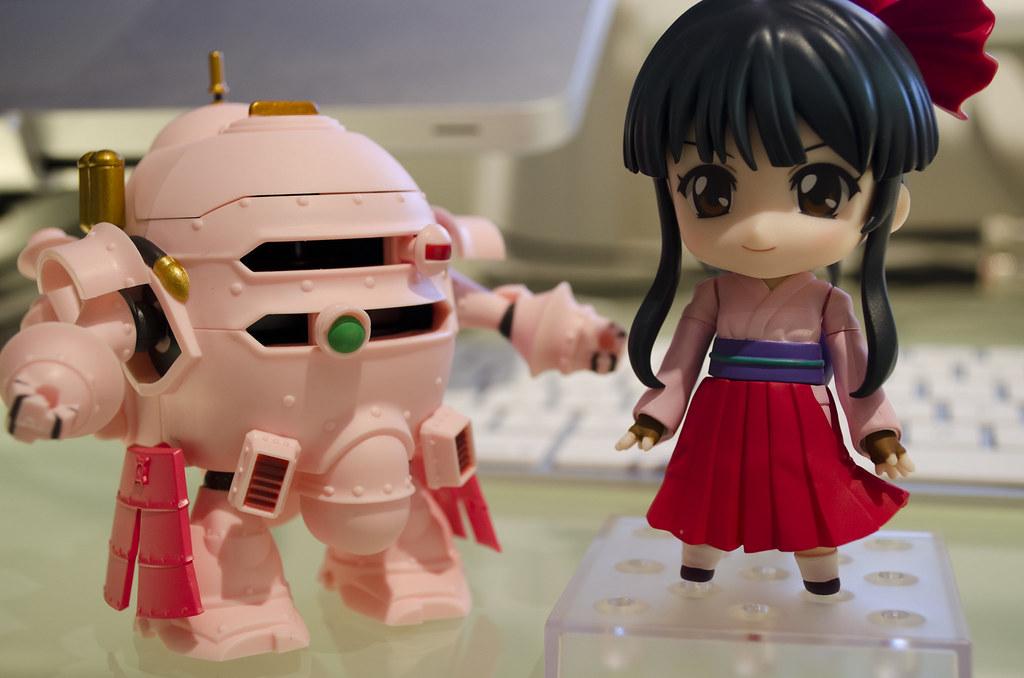 Nendoroid Sakura Shinguji & Koubu