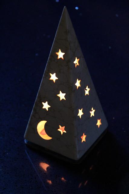 Pyramid of stars