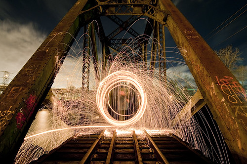 Rails of Fire by petetaylor