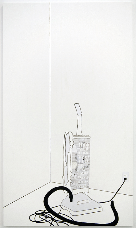 Frances Stark, Hoover in a Corner, 2006