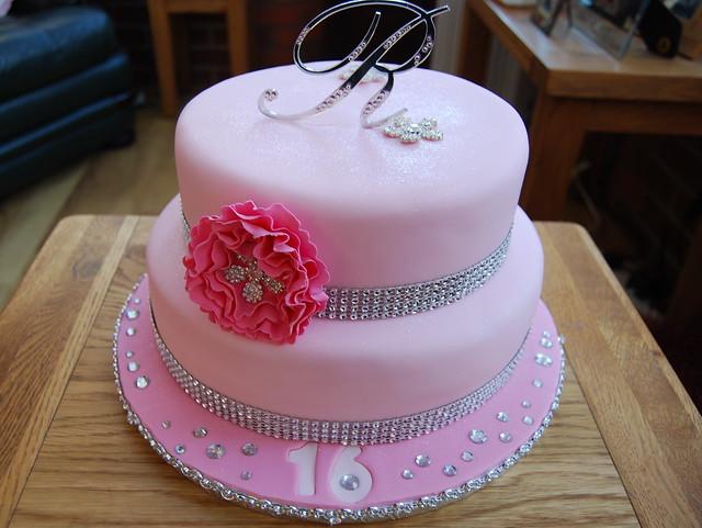 Ranee 16th Birthday Cake Flickr Photo Sharing