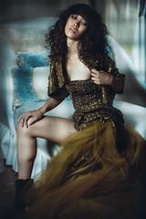 [フリー画像素材] 人物, 女性 - アジア, ワンピース・ドレス ID:201212110800
