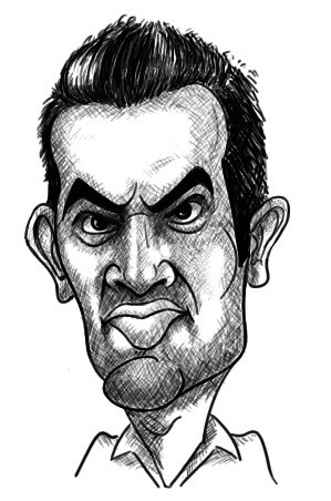 Zaheer Khan Cartoon