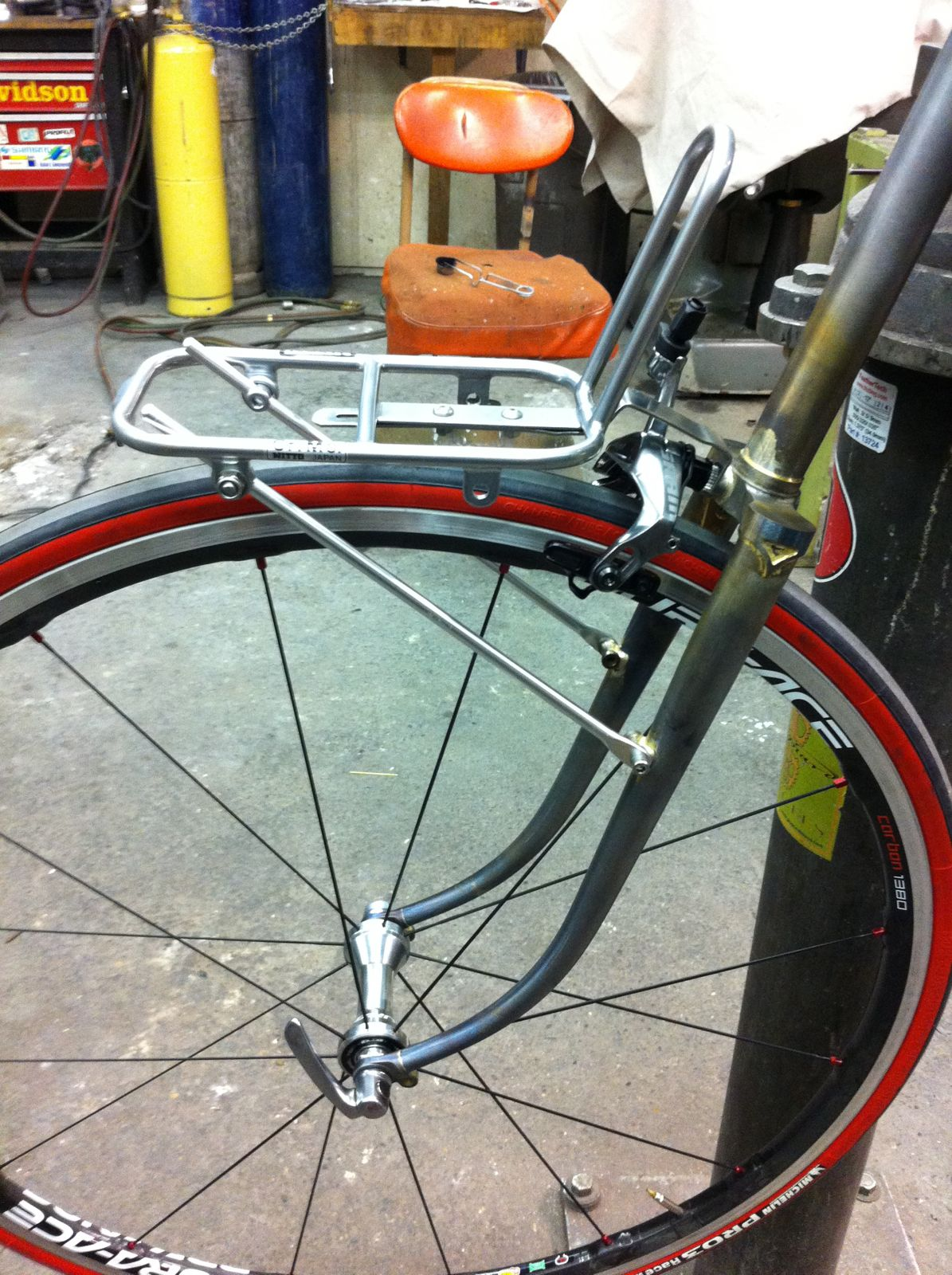 mock-up of the Davidson fork:rack