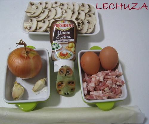 Hojaldre de queso y champis Président (3)