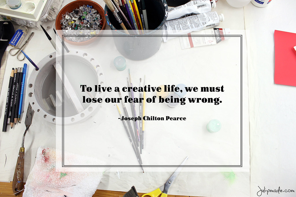 Julip Made creativity quote