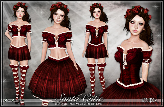 Santa Cutie Babydoll Dress Set
