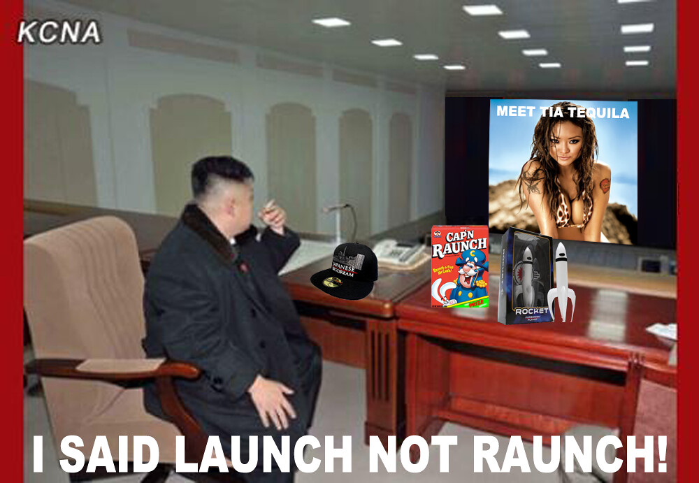 I SAID LAUNCH!