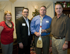 MCPOCG accepts oar from CGEA-DC chapter officers