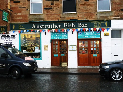 Anstruther Fish Bar, Scotland