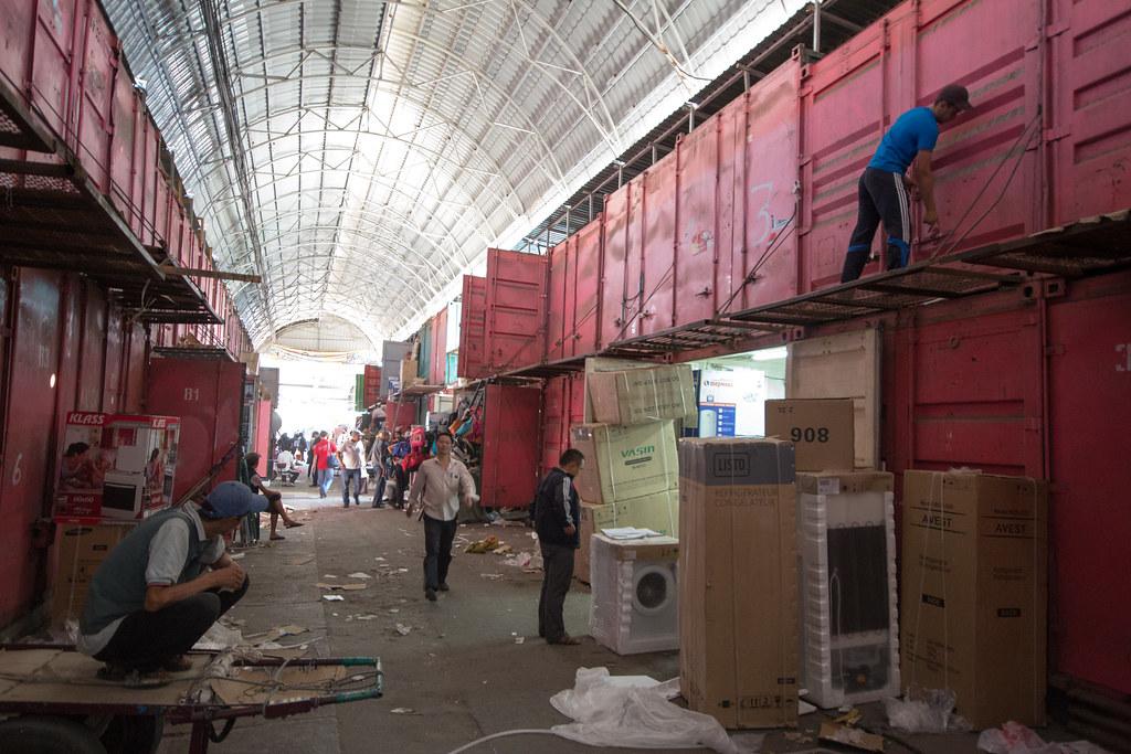 Closing Time at BIshkek's Dordoi Bazaar