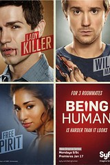 Being Human US poster