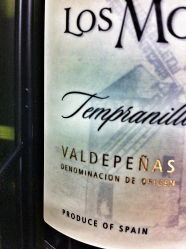 Valdepeñas - tempranillo