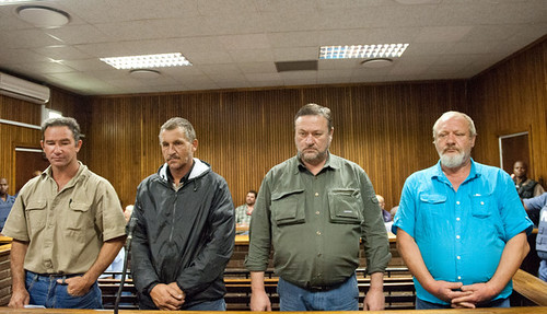 White South African men arrested in plot to attack ANC conference at Manguang. The alleged plot was to assassinate President Zuma and others. by Pan-African News Wire File Photos