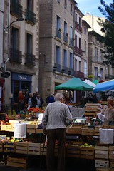 Market in France - Photo of Roujan
