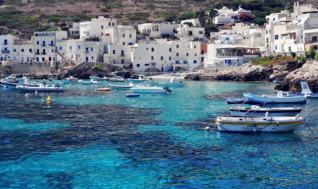 Levanzo Port Map Trapani Sicily Mapcarta