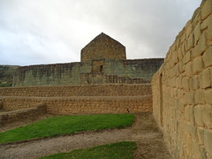 Akllawasi akllahuasi Aponsentos y Templo del Sol Ingapirca Ecuador 05