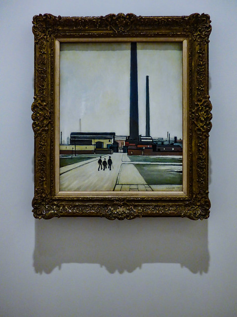 Factory at Widnes by L.S. Lowry