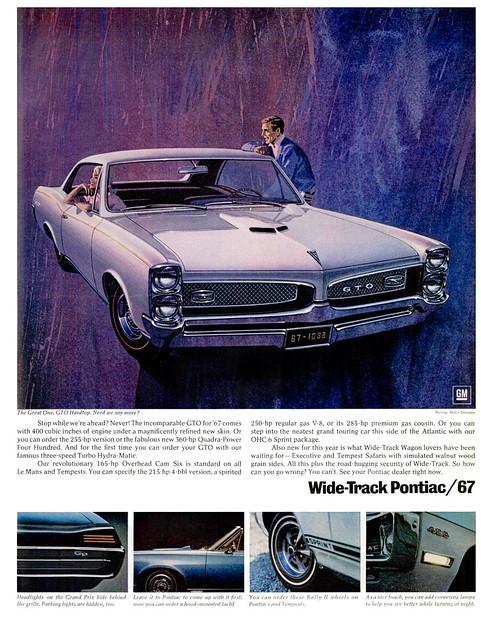 Pontiac Gto Ad 1967 Flickr Photo Sharing