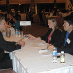 Allstate recruiters interviewing a candidate --