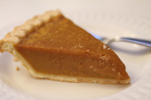 Pumpkin Pie Saved From Breakfast at the Hotel