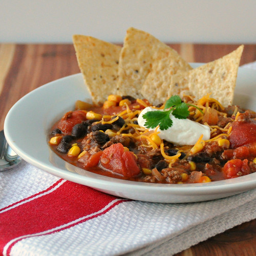 Black Bean Taco Soup The Way To His Heart