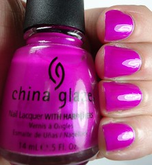 China Glaze Purple Panic (Neon)