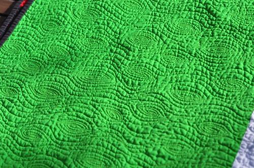 Google quilt - woodgrain quilting