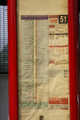 Bus stop timetable for KMB route 51