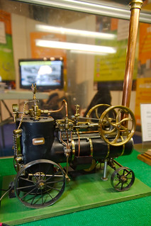 Locomobile Merlin miniature