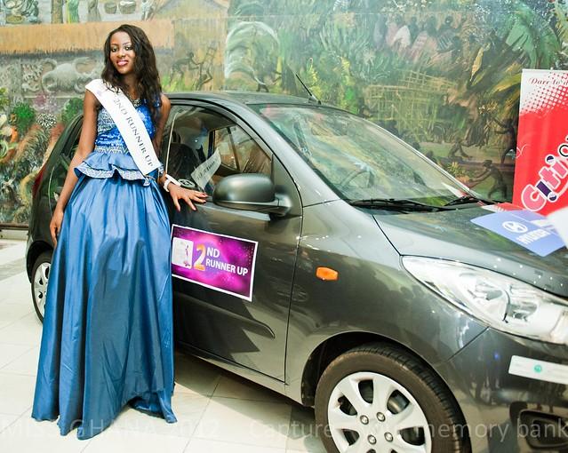 Miss Ghana 2012 crowning