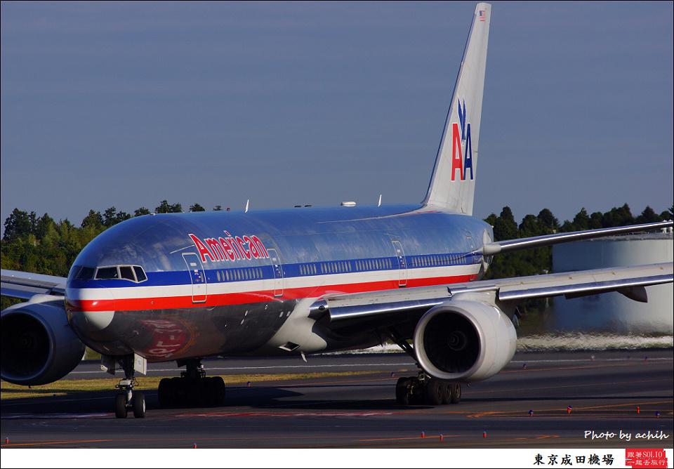 American Airlines / N762AN / Tokyo - Narita International