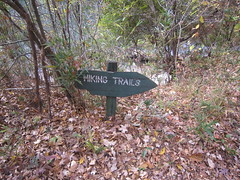 25. The Hiking Trail Sign